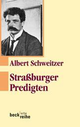 Straßburger Predigten