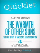 Taryn Nakamura: Quicklet on Isabel Wilkerson's The Warmth of Other Suns: The Epic Story of America's Great Migration