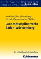 Dieter von Alberti: Landesdisziplinarrecht Baden-Württemberg