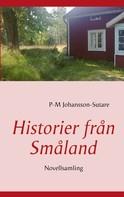 P-M Johansson-Sutare: Historier från Småland
