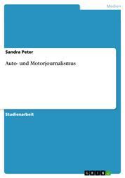 Auto- und Motorjournalismus