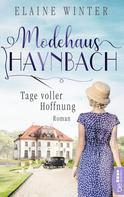 Elaine Winter: Modehaus Haynbach - Tage voller Hoffnung ★★★★