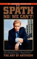Sebastian Späth: Wir können euch nicht helfen (B-Cover I)