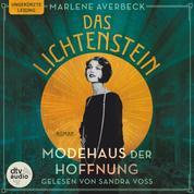 Das Lichtenstein - Modehaus der Hoffnung