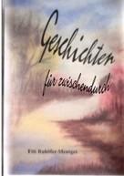 Edith Ruhöfer-Mentges: Geschichten für zwischendurch