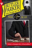 Günter Dönges: Butler Parker 195 – Kriminalroman ★★★★