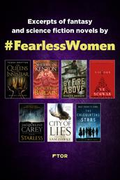 Fearless Women Sampler - Excerpts of Fantasy and Science Fiction Novels by Fearless Women