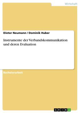 Instrumente der Verbandskommunikation und deren Evaluation