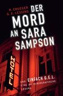 Hardy Crueger: Der Mord an Sara Sampson