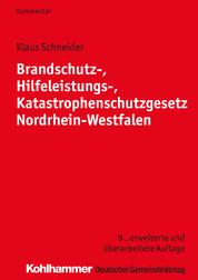 Brandschutz-, Hilfeleistungs-, Katastrophenschutzgesetz Nordrhein-Westfalen
