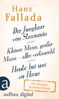Hans Fallada: Der Jungherr von Strammin / Kleiner Mann, großer Mann – alles vertauscht / Heute bei uns zu Haus