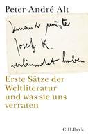 Peter-André Alt: 'Jemand musste Josef K. verleumdet haben …'