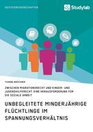 Yvonne Brückner: Unbegleitete minderjährige Flüchtlinge im Spannungsverhältnis zwischen Migrationsrecht und Kinder- und Jugendhilferecht. Eine Herausforderung für die Soziale Arbeit