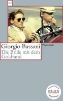 Giorgio Bassani: Die Brille mit dem Goldrand ★★★★