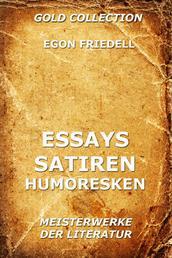 Essays, Satiren, Humoresken