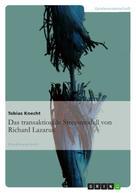 Tobias Knecht: Das transaktionale Stressmodell von Richard Lazarus