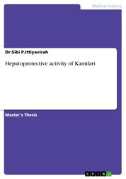 Hepatoprotective activity of Kamilari
