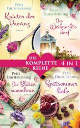 Die Maierhofen-Reihe Band 1-4: - Kräuter der Provinz / Das Weihnachtsdorf / Die Blütensammlerin / Spätsommerliebe (4in1-Bundle) - Die komplette Reihe