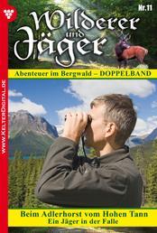 Wilderer und Jäger 11 – Heimatroman - Beim Adlerhorst vom Hohen Tann – Ein Jäger in der Falle