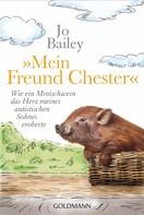 """Jo Bailey: """"Mein Freund Chester"""" ★★★★★"""