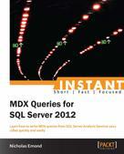 Nicholas Emond: Instant MDX Queries for SQL Server 2012