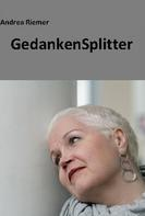 Andrea Riemer: GedankenSplitter