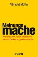 Albrecht Müller: Meinungsmache ★★★