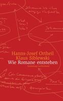 Hanns-Josef Ortheil: Wie Romane entstehen ★★★