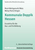 Bernhard Mord-Wohlgemuth: Kommunale Doppik Hessen