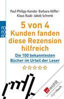 Paul-Philipp Hanske: 5 von 4 Kunden fanden diese Rezension hilfreich ★★
