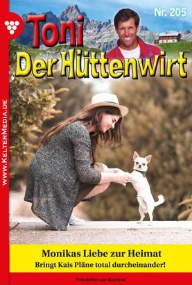 Toni der Hüttenwirt 205 – Heimatroman