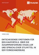 Verena Laqua: Entscheidende Emotionen für den Kauferfolg. Über die Zusammenführung visueller und sprachlicher Stilmittel in der Fernsehwerbung