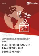 Philipp Falkenstein: Rechtspopulismus in Frankreich und Deutschland
