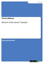 "Review of the movie ""Lantana"""