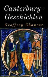 """Canterbury-Geschichten - Kommentierte deutsche Ausgabe der """"Canterbury Tales"""""""
