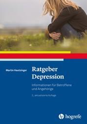 Ratgeber Depression - Informationen für Betroffene und Angehörige