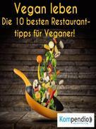 Robert Sasse: Vegan leben: ★
