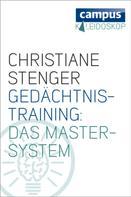 Christiane Stenger: Gedächtnistraining: Das Master-System ★★★★