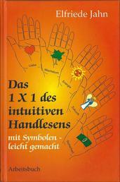 Das 1 × 1 des intuitiven Handlesens - Mit Symbolen leicht gemacht - Arbeitsbuch