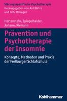 Elisabeth Hertenstein: Prävention und Psychotherapie der Insomnie
