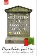 Thorsten Benkel: Gestatten Sie, dass ich liegen bleibe ★★★★