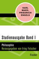 Karl Marx: Studienausgabe in 4 Bänden