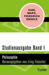 Studienausgabe in 4 Bänden - I. Philosophie