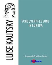 Schulverpflegung in Europa