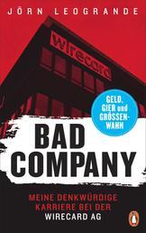 Bad Company - Meine denkwürdige Karriere bei der Wirecard AG