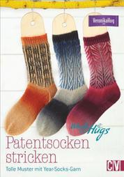 Woolly Hugs Patentsocken stricken - Tolle Muster mit Year-Socks-Garn