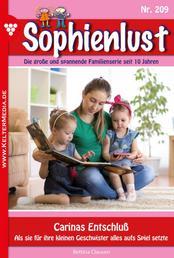Sophienlust 209 – Familienroman - Carinas Entschluß