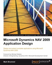 Microsoft Dynamics NAV 2009 Application Design