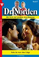 Patricia Vandenberg: Dr. Norden 617 – Arztroman ★★★★