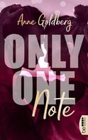 Anne Goldberg: Only One Note